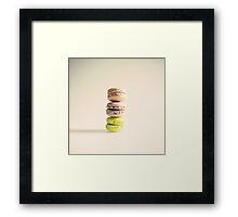 Macaroons  Framed Print