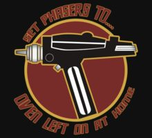 Eddie Izzard Star Trek Phaser Setting - Oven Left on at Home by metacortex