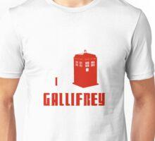 I love Gallifrey Unisex T-Shirt