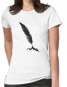 Carrion Quill Womens Fitted T-Shirt