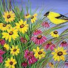 Bird in the garden by maggie326