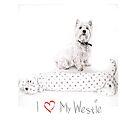 "Pet Pal Westie iPhone Case "" I Love My Westie ""  by Love Through The Lens"