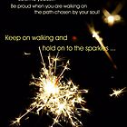 Inspiration: Let your Life sparkle by TriciaDanby