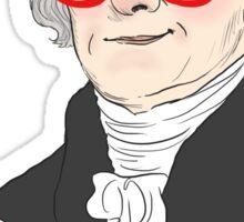 The Founding Bros: Thomas Jefferson Sticker