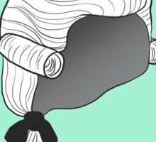 Bring Back Powdered Wigs Sticker