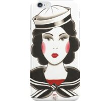 Sailor Girl iPhone Case/Skin