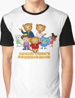 Daniel Tiger welcomes you Graphic T-Shirt