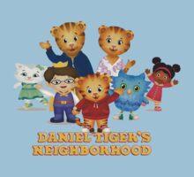 Daniel Tiger welcomes you Kids Tee