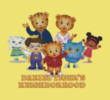 Daniel Tiger welcomes you Baby Tee