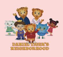 Daniel Tiger welcomes you One Piece - Long Sleeve