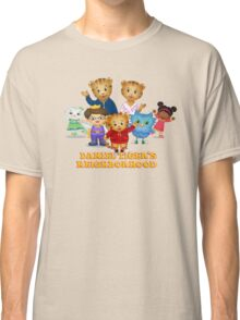 Daniel Tiger welcomes you Classic T-Shirt