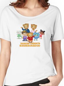 Daniel Tiger welcomes you Women's Relaxed Fit T-Shirt