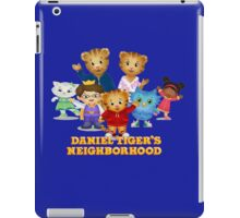 Daniel Tiger welcomes you iPad Case/Skin