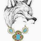 Fox Necklace by Alice Prior