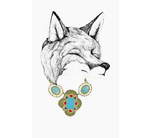 Fox Necklace Photographic Print