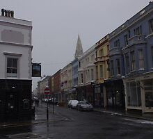 Kings Road and The Railway Pub in St.Leonards by seymourpics