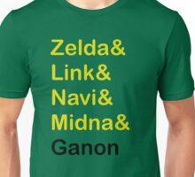 Zelda & Link & Navi & Ganon Unisex T-Shirt