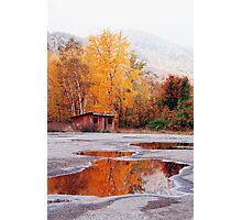 Multi-Colored Mud Puddle Photographic Print