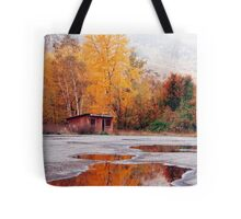 Multi-Colored Mud Puddle Tote Bag