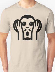 3 Wise Monkeys Kikazaru 聞かざる Hear NO Evil Emoji T-Shirt