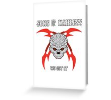Sons of Kahless Greeting Card