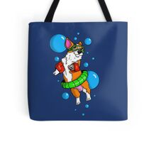 Corgi Swimmer  Tote Bag