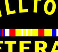 'Chilltown Veteran' Sticker