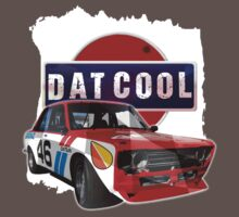 Dat Cool - Retro Datsun Tee Shirt by ArtGear