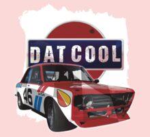 Dat Cool - Retro Datsun Tee Shirt One Piece - Short Sleeve