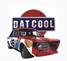 Dat Cool - Retro Datsun Tee Shirt One Piece - Long Sleeve