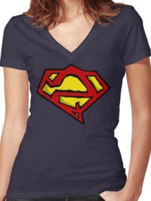 Bizarro Women's Fitted V-Neck T-Shirt