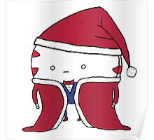 Peppermint Butler Christmas Outfit Poster