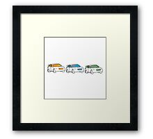 Rally Car Artwork - Multiple Product Styles Available  Framed Print