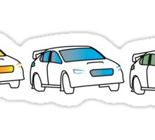 Rally Car Artwork - Multiple Product Styles Available  Sticker