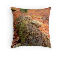Details of an enchated forest I Throw Pillow