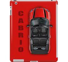 Mini Cooper Cabrio iPad Case Red iPad Case/Skin