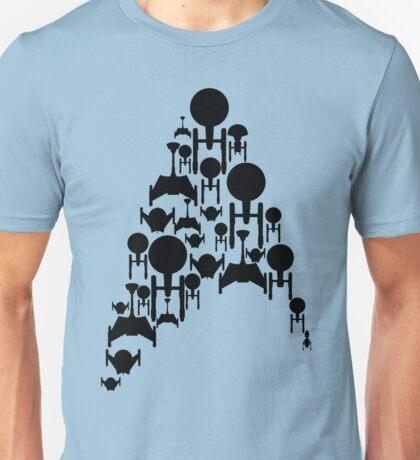 Ships Trek (Black Version) Unisex T-Shirt