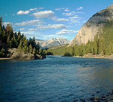Bow River by robcaddy