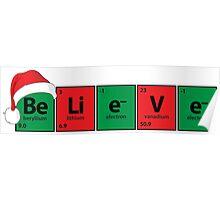 Be.Li.e.V.e - Believe Periodic Table Poster