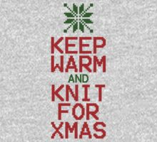 Keep Warm and Knit for Xmas One Piece - Long Sleeve