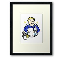 Pip Boy - Cleanliness Is Godliness Framed Print