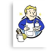 Pip Boy - Cleanliness Is Godliness Canvas Print