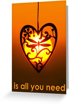 LOVE is all you need by David Alexander Elder