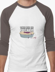 Fucked Pie Men's Baseball ¾ T-Shirt