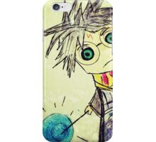 Harry Potter. Cartoon. iPhone Case/Skin