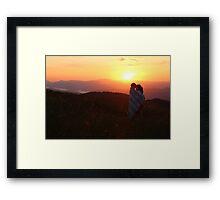 Sunrise Love Framed Print