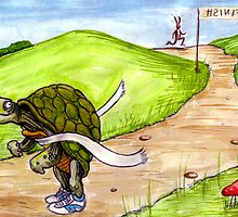 Hare and Tortoise by Simon Heath