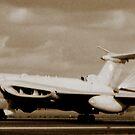 Victor Landing at RAF Marham 1991 by SwampDogPhoto