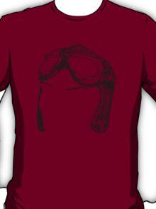 Dotwork Retro Aviator Goggles T-Shirt