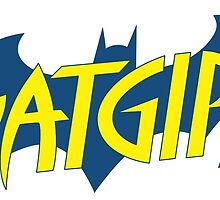Batgirl logo by JamesCMarshall